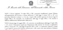 Pubblichiamo decreto Miur con procedimento spagnolo ricevuto da Sife a maggio 2017